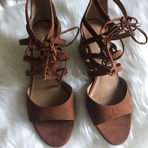 Franco Sarto wedge heels size 8